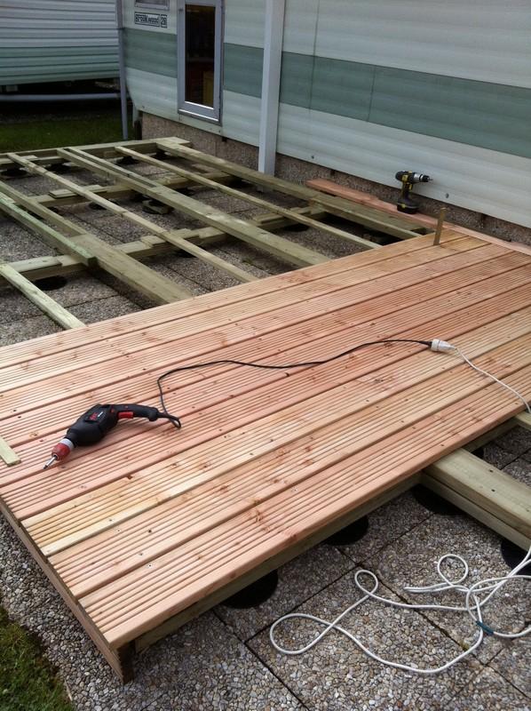 Terrasse de mobil home - Plan pour terrasse exterieur ...